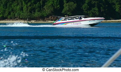 Speedboat - Tropical adventure with speed boat
