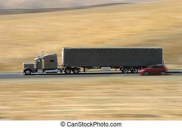 Speeding Truck 2