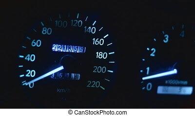 Speedo acceleration - car dashboards