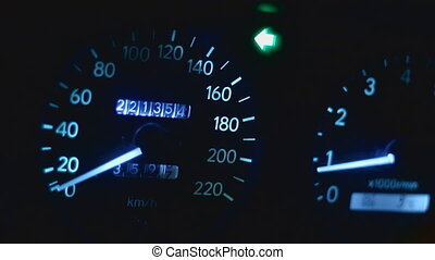 Speedo acceleration - car dashboards