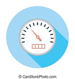Speedmeter Vector Clipart Royalty Free. April 2018. 91 ...