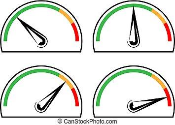Speedometer Icon Design