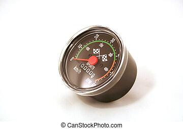 Speedometer KMH - A speedometer in KMH or kilometers per...