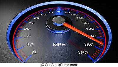 Speedometer MPH Fast