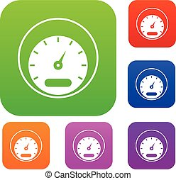 Speedometer set collection