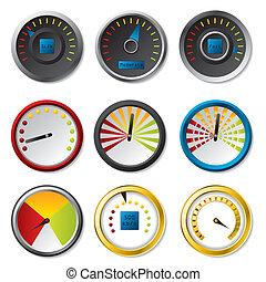 Speedometer set for download