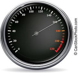 Speedometer, vector