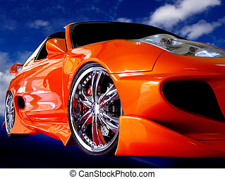 Speedster - Nippon Series - various images depicting details...