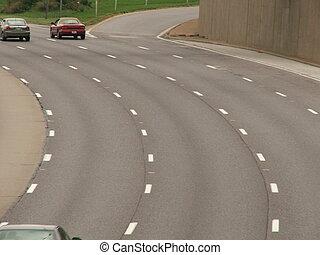 speedway - four lane highway