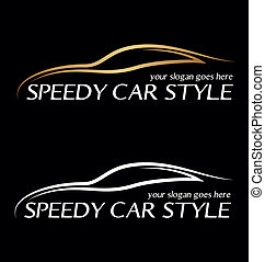 Speedy card logo.