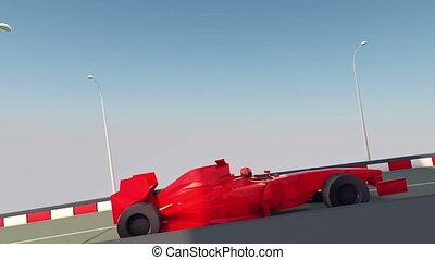 """Speedy Formula One Moves Forward"" - ""An impressive 3d..."