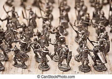 speelbal soldaten