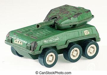 speelbal tank, militair