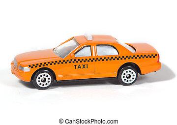 speelbal, taxi cab