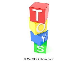 speelgoed belemmert