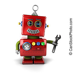 speelgoed robot, werktuigkundige