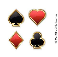 speelkaart, symbolen