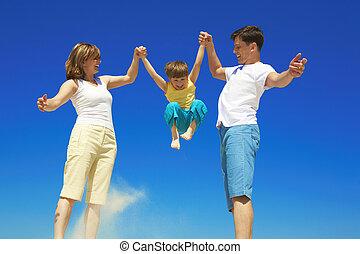 speels, gezin