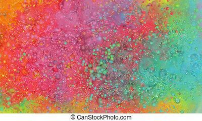 spektrum, aquarell, farbig, hintergrund, abstrakt