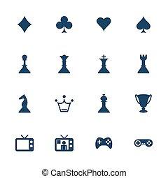 spel, ikonen