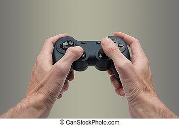 spel, video