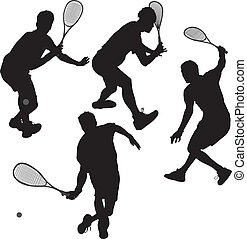 spelaren, squash