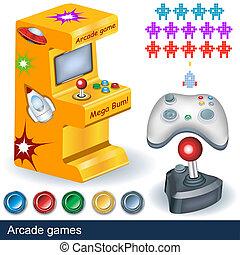 spelen arcade