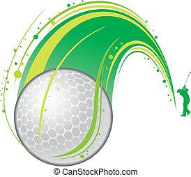 spelend golf