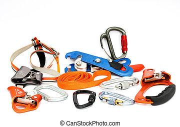 Speleology Climbing equipment - Climbing Set of Tools and...