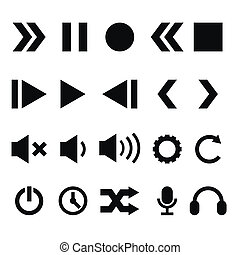 speler, iconen, set