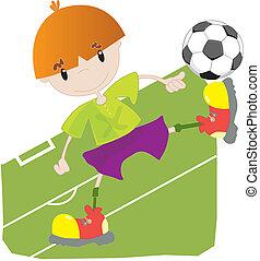 speler, weinig; niet zo(veel), voetbal