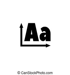 Spelling Orthography Flat Vector Icon