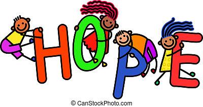 speranza, bambini