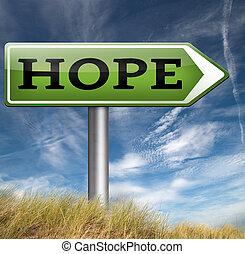 speranza, segno