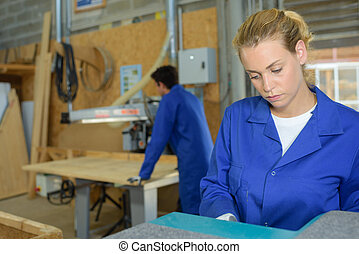 sperrholz, fabrik