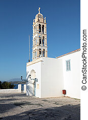Spetses cathedral campanile