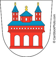 Speyer city coa - Various vector flags, state symbols,...
