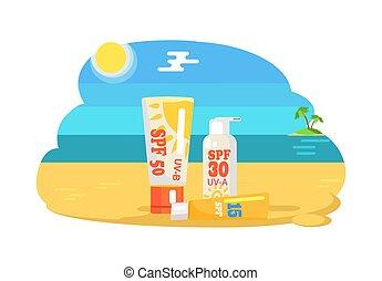 SPF Sun Protection Factor and Labeling Moisturiser - SPF sun...