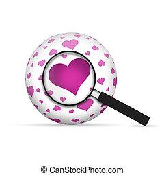 sphère, amour