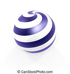 sphère, cercle