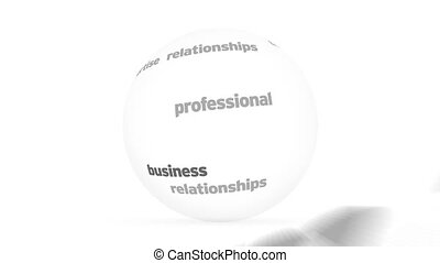 sphère, consultant, mot