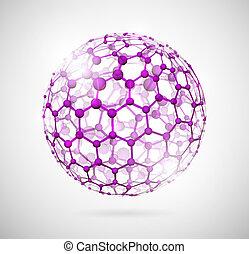 sphère, moléculaire