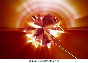 sphère, pointu