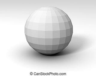 sphère, polyèdre