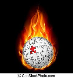 sphère, puzzle