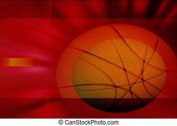 sphère, tourner, bball