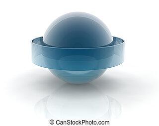 sphère, verre