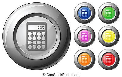 Sphere button calculator