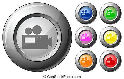 Sphere button camera