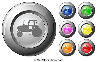 Sphere button tractor